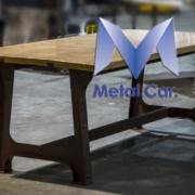 Tavolo ferro verniciato