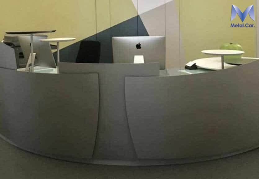 scrivania metallo design