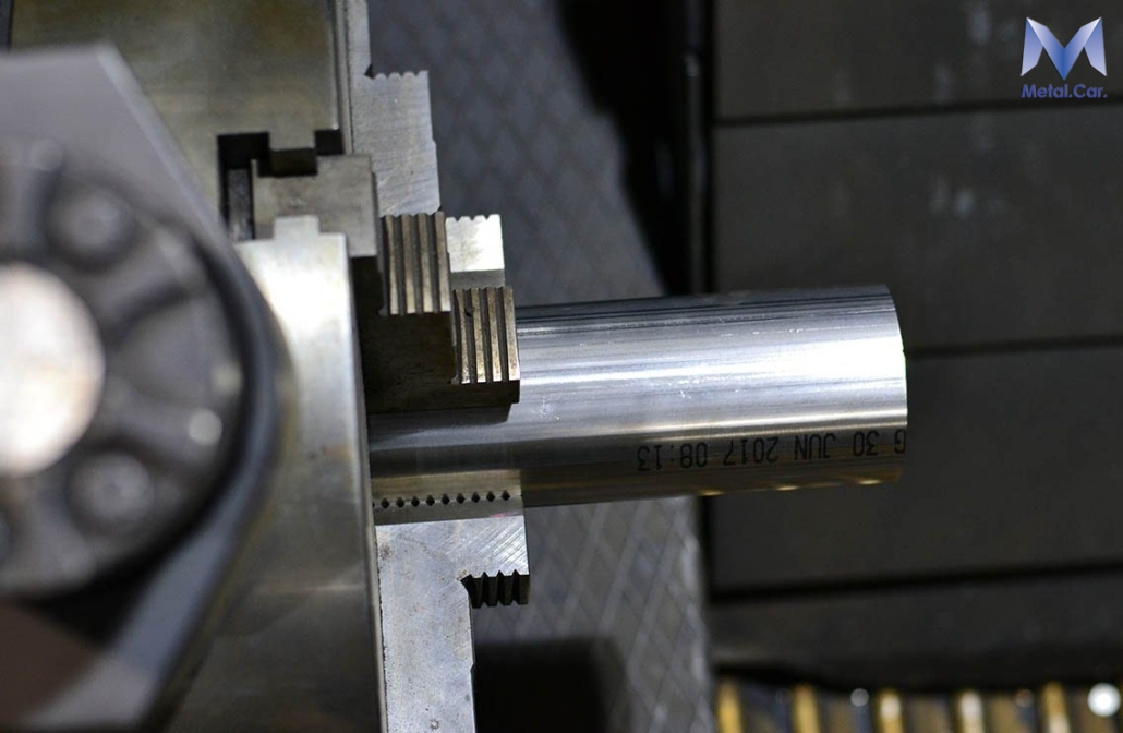 taglio laser tubo