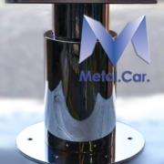 Piantana telescopica acciaio inossidabile