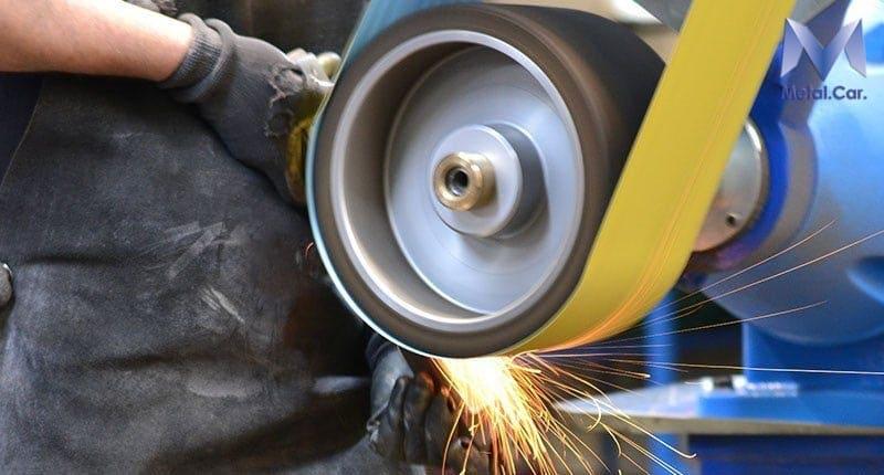 lavorazione lucidatura acciaio