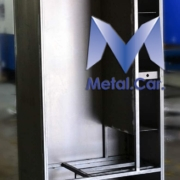 armadio in metallo