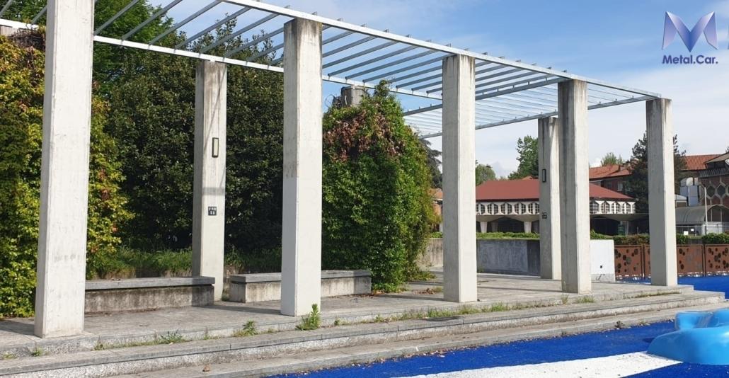 Piazza giovanni astengo metal car carpenteria metallica for Spazio arredo torino