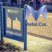 transenna in metallo