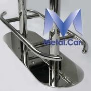 sgabello nautico in acciaio inox per barche