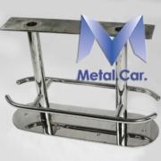 sgabello nautico in acciaio inox