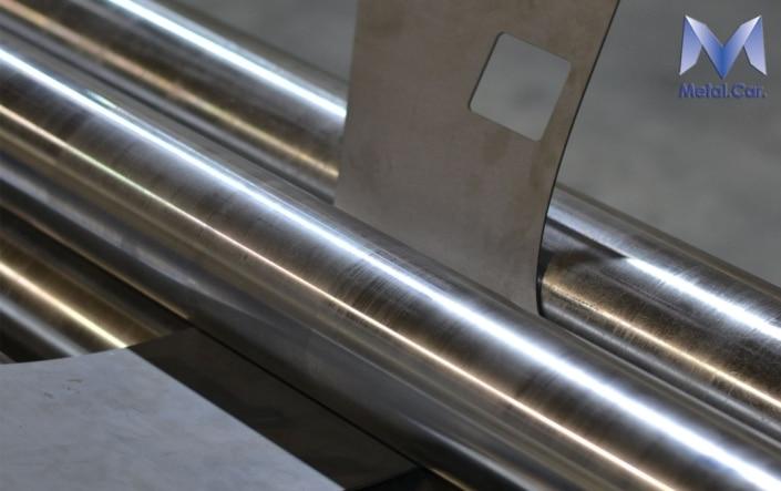 calandratura metallo a torino