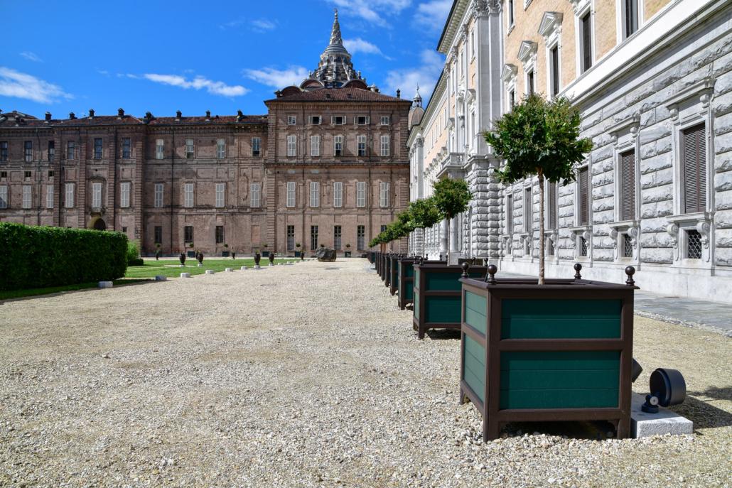 Fioriere Giardini Reali di Torino
